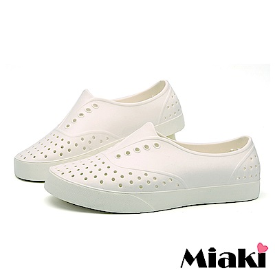 Miaki-休閒鞋防水設計透氣雨鞋