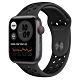 Apple Watch Nike SE (GPS+行動網路) 44mm 太空灰鋁金屬錶殼+黑色錶帶(MG0A3TA/A) product thumbnail 1