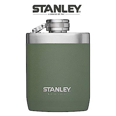 【美國Stanley】強悍系列酒壺0.24L-橄欖綠