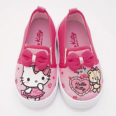 HelloKitty童鞋 不對稱休閒款 SE18746粉(中小童段)
