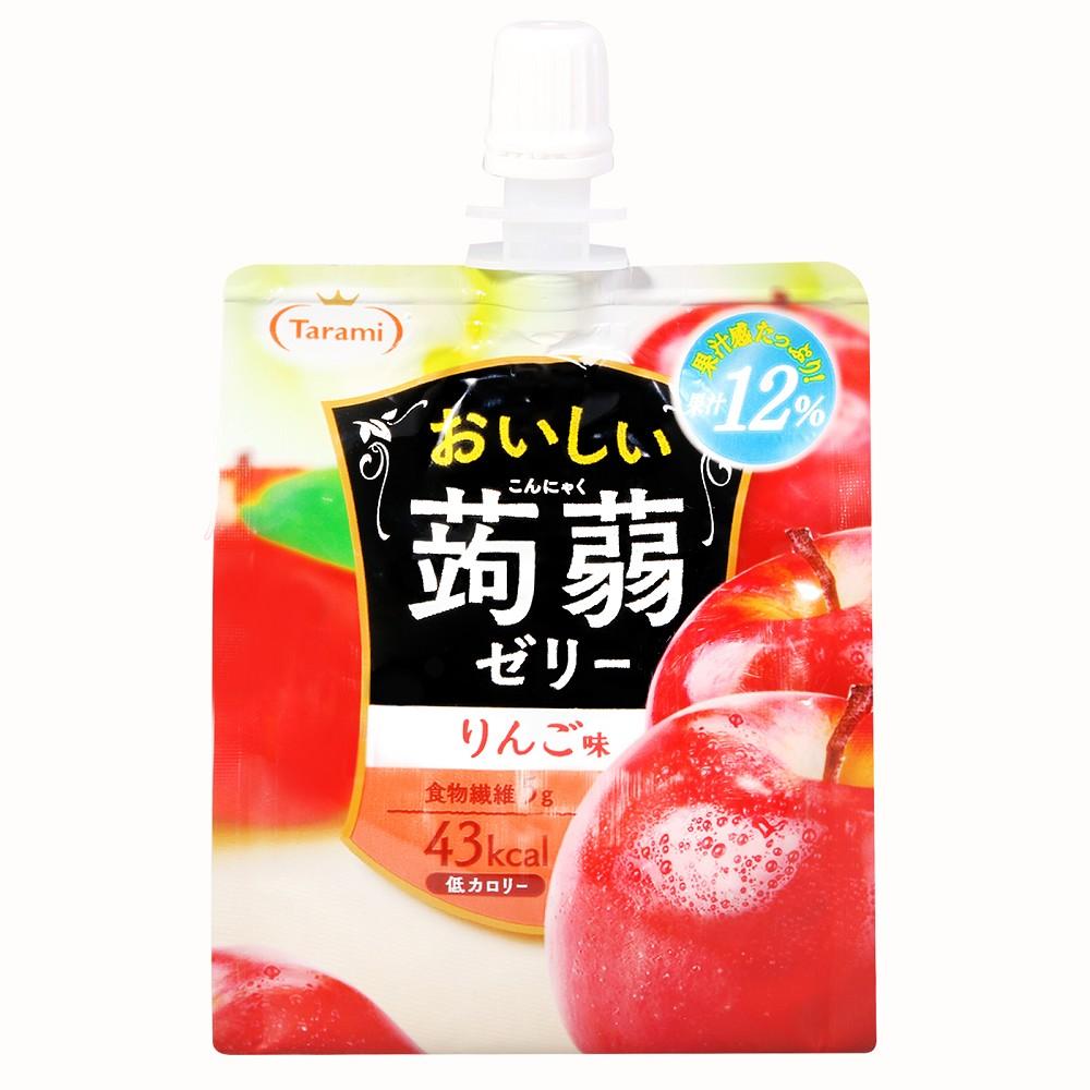 Tarami達樂美 果凍飲便利包-蘋果(150g)