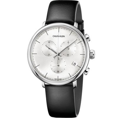 Calvin Klein high noon系列極簡計時腕錶(K8M271C6)
