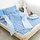 Adorar 平單式針織親水涼感墊+涼枕墊二件組-單人(藍) product thumbnail 1