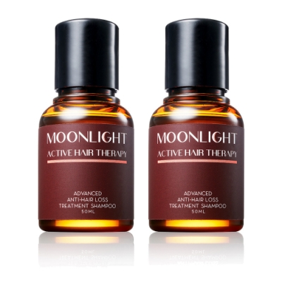 Moonlight 莯光 3%進化版健髮豐潤洗髮精 50mL x2
