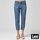 Lee 中腰標準合身小直筒牛仔褲/淺藍色