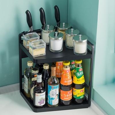 【HappyLife】廚房置物架32長2層配刀架 32×22×40CM