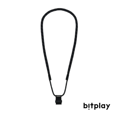 bitplay Wander Case 立扣殼專用 風格掛繩▲黑色