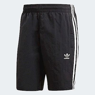 adidas 短褲 3 Stripes Swim Short 男款