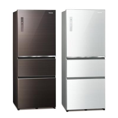 Panasonic國際牌 500公升 無邊框玻璃系列變頻三門電冰箱 NR-C501XGS