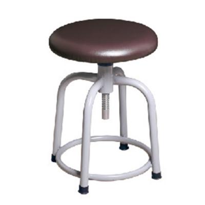 H&D 瑞士308螺旋升降咖皮灰腳椅