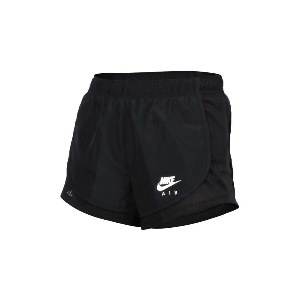 NIKE 女 運動短褲 黑白