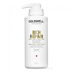 GOLDWELL 歌薇 水感60秒髮膜500ml-快速到貨
