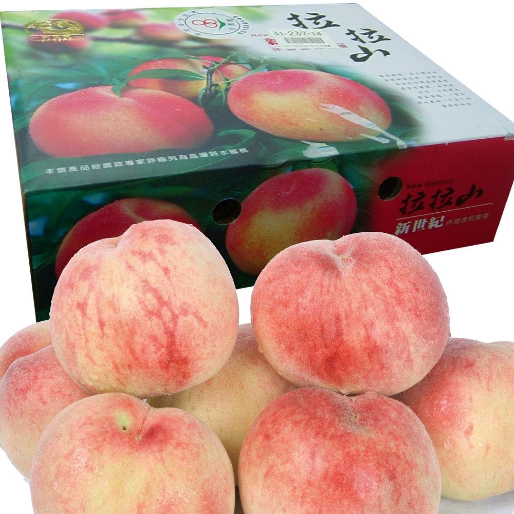 桃園復興鄉 拉拉山水蜜桃禮盒/8粒裝
