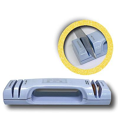 金德恩 台灣製造 雙效合一可掛式磨刀器-二入組