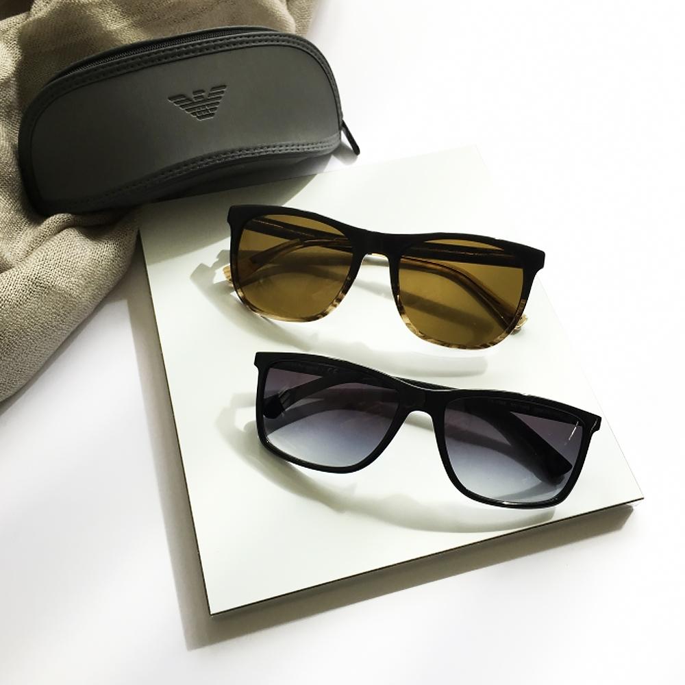 [時時樂限定] EMPORIO ARMANI 太陽眼鏡 百搭經典