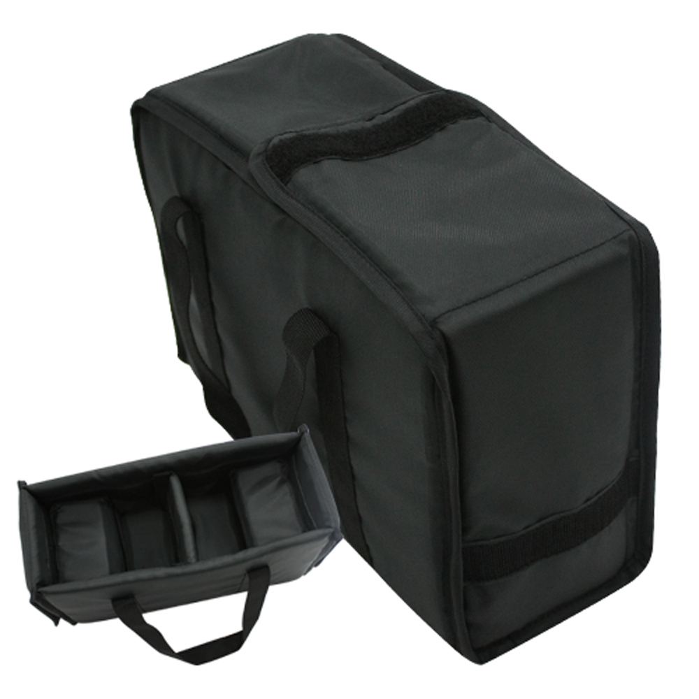 Kamera 一機雙鏡側背包型相機內袋防護套(黑色)