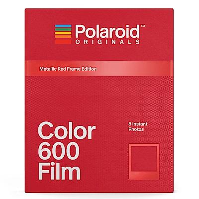 Polaroid Color Film for 600 彩色底片(紅色金屬框版)/2盒
