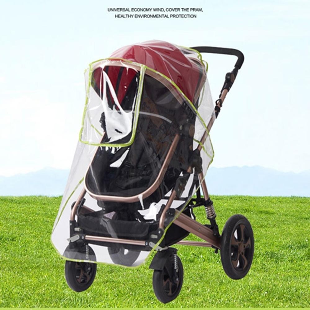 Baby童衣 嬰兒推車雨罩 透明防風擋雨罩 擋雨透明罩 88307