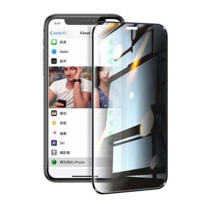 NISDA for iPhone 11 / iPhone XR 防窺2.5D滿版玻璃保護貼-黑