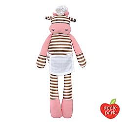 美國 Apple Park 農場好朋友系列 有機棉安撫玩偶 - 廚師小牛