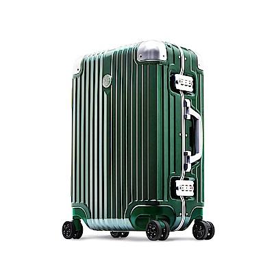 Marvel 漫威復仇者-20吋PC鏡面超細邊鋁框行李箱-浩克