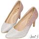 Ann'S無比氣勢2.0-軟質漸層亮片尖頭高跟鞋-粉 product thumbnail 1