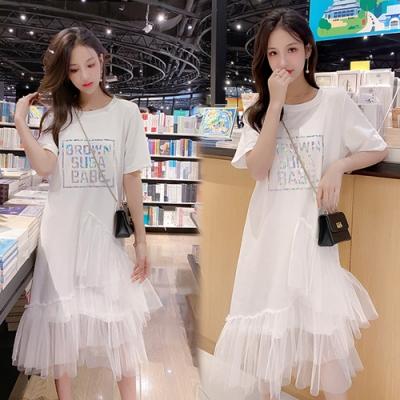 【韓國K.W.】(預購)氣質品味蛋糕紗洋裝-3色