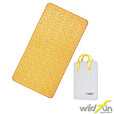 WildFun 300x75舖棉多功能前庭墊 向日葵