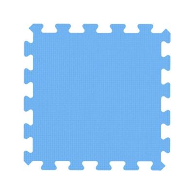 【新生活家】EVA鑽石巧拼地墊36入-淺藍