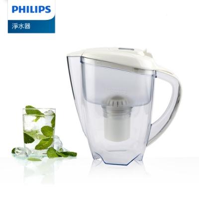 PHILIPS 飛利浦 超濾帶計時器3.5L濾水壺-白 AWP2920