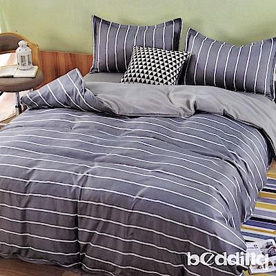 BEDDING-活性印染雙人鋪棉床包兩用被套四件組-往事