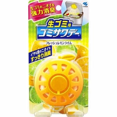 日本【小林製藥】 垃圾桶除臭貼-萊姆2.7ml