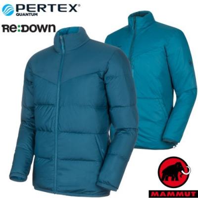 長毛象 男新款 Whitehorn 輕量保暖正反兩穿羽絨外套_水鴨藍/藍寶石