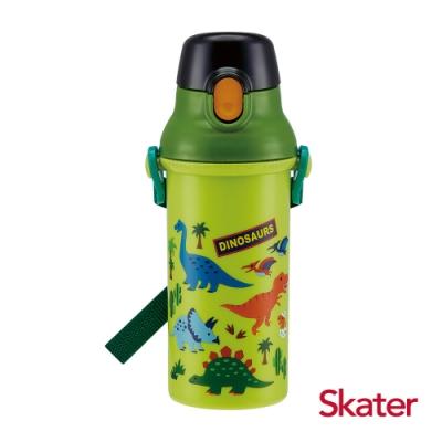 Skater直飲冷水壺 (480ml) 恐龍