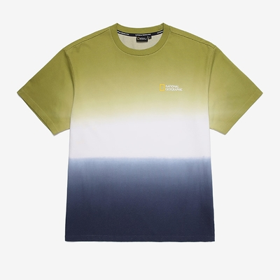 NATIONAL GEOGRAPHIC 男女 UNI TIE DYE GRAPHIC H/TEE 短袖T恤 綠-N212UTS510050