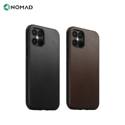 美國NOMAD經典皮革防摔保護殼-iPhone 12/Pro (6.1 )-黑