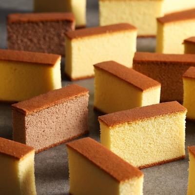 【金格食品】長崎蜂蜜蛋糕五片裝(蜂蜜/巧克力/綠茶)