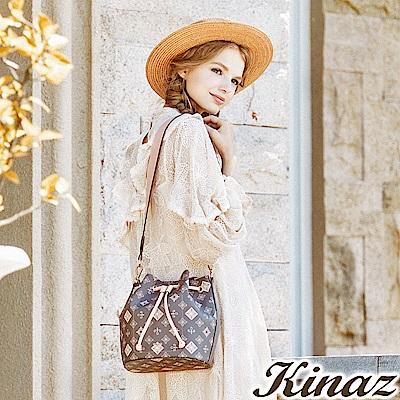 KINAZ 紅髮安妮兩用斜背水桶包-清秀佳人系列