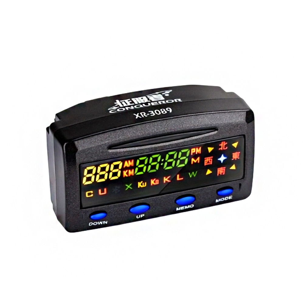 征服者 XR-3089 GPS測速警示器 單機版(不含室外機)-快