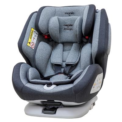法國納尼亞Nania x migo納歐聯名360度旋轉  0-12歲Isofix 汽車安全座椅 (5色任選)