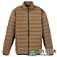 【ATUNAS 歐都納】男款輕量保暖羽絨外套A1-G1746MZ3咖啡 product thumbnail 1