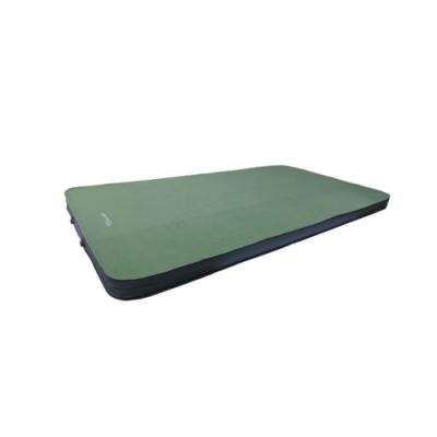 100mountain 3D雙人自動充氣露營睡墊 橄欖綠