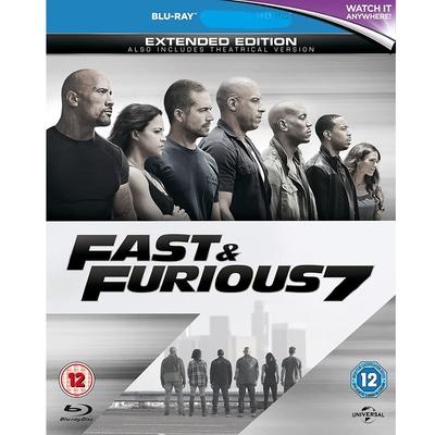 玩命關頭7  Fast & Furious 7 藍光 BD
