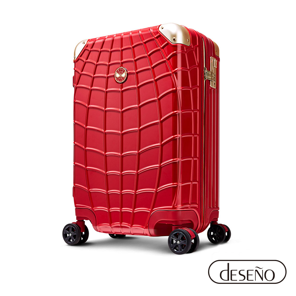 Marvel 復仇者聯盟系列 20吋 新型拉鍊行李箱-紅蜘蛛人