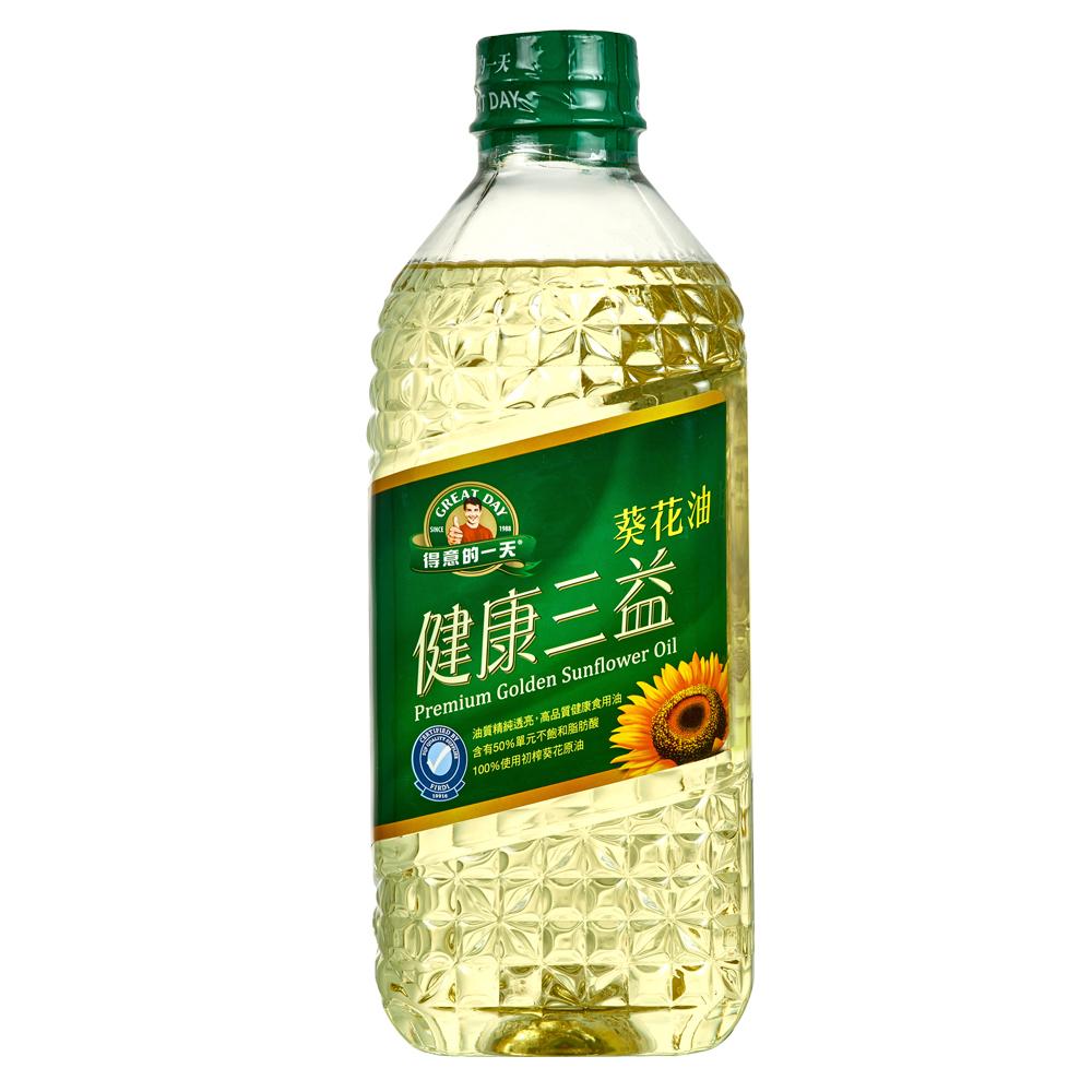 (活動)得意的一天健康三益葵花油(1.58L)