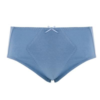 蕾黛絲-伴你一生精梳棉褲高腰生理褲 M-EL 灰綠
