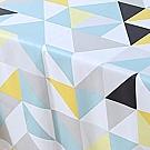 【挪威森林】高級複合材質防水防油汙餐桌墊/桌巾/野餐墊-阿基米德 137*137cm