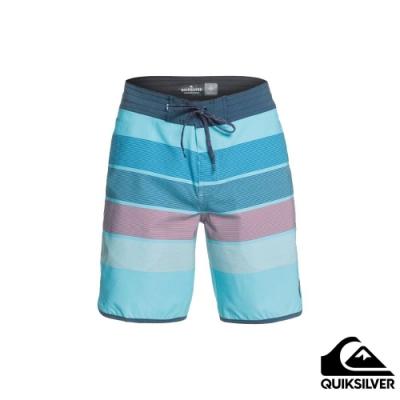 【 QUIKSILVER】SEASONS BEACHSHORT 19 衝浪休閒褲 藍色
