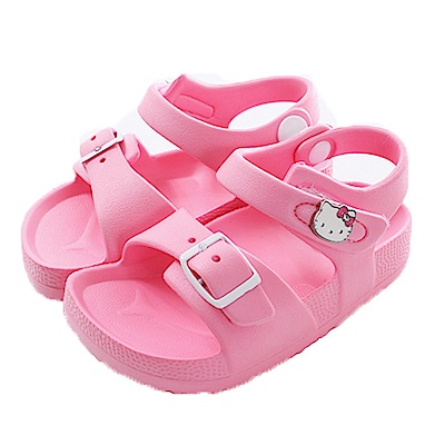 Hello Kitty超輕休閒涼鞋 粉 sk0477 魔法Baby
