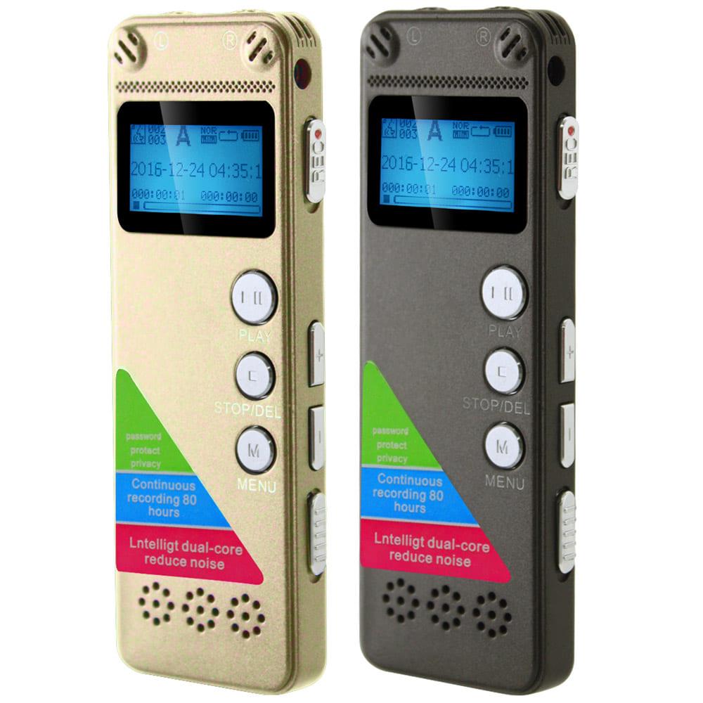 K31 雙核降躁數位錄音筆(內建8GB)